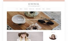 Emma Blogger Template. free professional blogger template Responsive SEO Ready fashion Photography portfolio designs Make Money Blogging, How To Make Money, Blogger Templates, Blogger Themes, Free, Tech, Design, Beauty