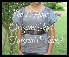 The 1 Hour Origami Shirt Tutorial (Video)