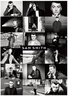 Sam Smith Poster Print by MusicPosters on Etsy
