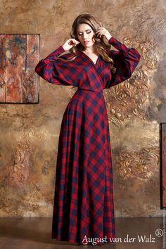 Maxi Tartan Dress
