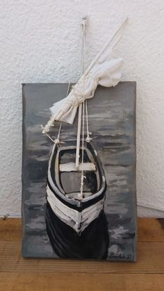 Original acrylic painting on reclaimed wood. Boat Original acrylic painting on reclaimed wood. Boat – Arcadia Ego StudiosOriginal acrylic painting on reclaimed wood. Boat Painting, Painting On Wood, Wood Boats, Beach Crafts, Diy Crafts, Easy Paintings, Acrylic Paintings, Painting Abstract, Driftwood Art