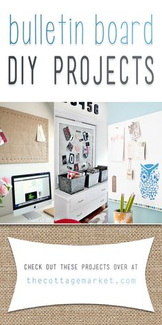 Bulletin Board DIY Projects - The Cottage Market