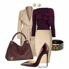 Sleek, stylish, and sexy. Grown woman attire