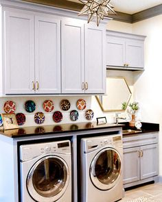 Laundry room countertop. Laundry room countertop is Countertop is Black honed…