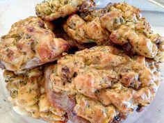 Töltelékes sertéstarja Meat Recipes, Shrimp, Food And Drink, Beef, Chicken, Meat, Ox, Ground Beef, Cubs