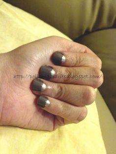 Polished Diaries: Tutorial: Half Moon Manicure