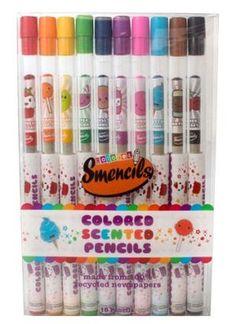 Smencils Colored Scented Pencils