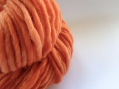 Orange Wool Yarn by deorigenchile on Etsy, $20.00