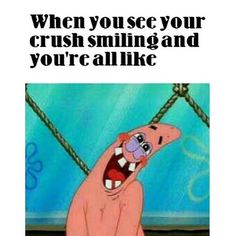 When you see your crush smiling and you're all like..... Go See http://v24k.com/love-messages/ ~Ashley
