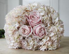 DIY Blush Wedding Bouquet