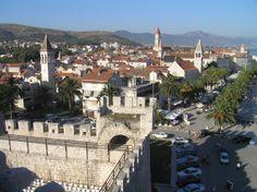 Croacia-Trogir. Castillo de Karerlengo.