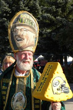 Green Bay Legend...Saint Vince.--- I have met him. Very nice man. :)  we talked to him & his wife at a Seattle game.