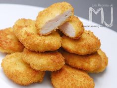 Nuggets de Pollo... ummmmmmmmmmm No Salt Recipes, Baby Food Recipes, Sweet Recipes, Tapas, Easy Cooking, Cooking Recipes, My Favorite Food, Favorite Recipes, Good Food