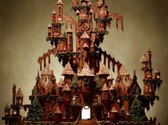 Learn how to create an impressive gingerbread castle for Christmas, plus more sweet holiday recipes from Food.com.