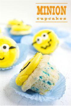 Minion Cupcakes   Deliciously Declassified