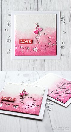 RejoicingCrafts: Valentine's Day cards with Simon Says Stamp Heart Breeze and…
