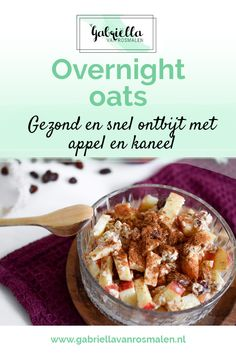 Overnight Oats, Breakfast Bowls, Breakfast Recipes, Healty Lunches, Low Carb Recipes, Healthy Recipes, Breakfast At Tiffanys, Diy Food, Love Food