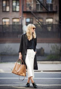 wide pants style