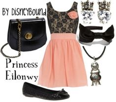 Disney inspired outfit - Princess Eilonwy by esther