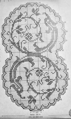 @nika Crochet Tablecloth Pattern, Filet Crochet Charts, Doilies, Diy And Crafts, Cross Stitch, Embroidery, Table Covers, Crochet Tutorials, Pillow Covers