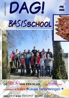 Jilster - samen een mooi tijdschrift maken  En nog een gezellige cover van onze gebruikers Teacher Inspiration, Diy Presents, Cute Crafts, Thank You Gifts, Classroom, Templates, Teaching, Education, How To Make