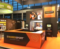 At Rimini Wellness fair 2016 in Rimini, Tosetto fabricated the exhibition space of NAMED SPORT