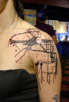 Free Tattoo Designs, Pictures of Tattoos, Tattoo Ideas Xoil Tattoos, Side Tattoos, Body Art Tattoos, Tattoo Ink, French Tattoo, Gothic Tattoo, Modern Tattoos, Detailed Tattoo, Large Tattoos
