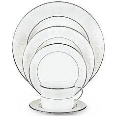 My wedding china set: Kate Spade Bonnabel Place, Lenox
