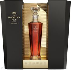 The Macallan No. 6 Highland Single Malt Scotch Whisky in Lalique | @Caskers
