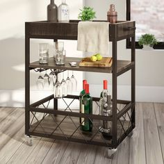 2019 Fashion Original Art Deco Drinks Trolley Bar Cart Aromatic Character And Agreeable Taste Other