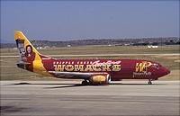 Western Pacific, based out of Colorado Springs, had the best aircraft paint schemes of any airline in the world hands down. Their livery showed the best attractions, businesses & other things that Colorado Springs had to offer. They went out of business February 4, 1997.