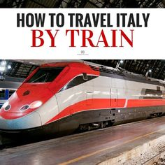 Traveling Italy by train seems daunting, but if you know a few basic tips it's one of the easiest, fastest, and cheapest ways to get around the country. Check out the guide at Walks of Itay. italy How to Travel Italy by Train: It's Easy, We Promise European Vacation, Italy Vacation, European Travel, Italy Honeymoon, Florida Vacation, Italy Travel Tips, Ways To Travel, Travel Destinations, Travel Europe