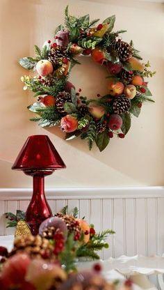 H203919 Sugared Fruit Wreath or Garland