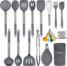 Kitchen Items, Kitchen Tools, Kitchen Decor, Nice Kitchen, Awesome Kitchen, Kitchen Things, Cooking Utensils Set, Cooking Spoon, Before After Kitchen