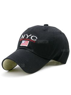 2f36acbe1 Just $6.99, buy Flag and NYC Embroidery Baseball Dad's Hat online shopping  at GearBest.