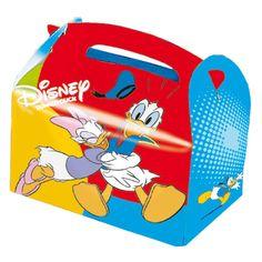 Cajitas para guardar regalos para invitados de #Donald y #Daisy de #Disney