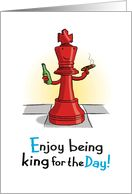 King for the Day, Chess Piece, Father's Day