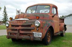 Dodge Pickup Vintage Pickup Trucks, Dodge Pickup, Rusty Cars, Toy Trucks, Barn Finds, Classic Trucks, Old Toys, Rat Rods, Mopar