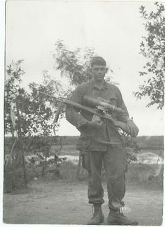 Starlight scope. Sniper. - Vietnam War (used the scope one night, saved our asses)