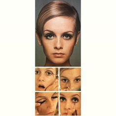 28 Trendy Fashion Twiggy Eye Makeup – Leopardo – - Prom Makeup Looks Mod Makeup, Makeup Inspo, Makeup Inspiration, Makeup Tips, Twiggy Makeup, Sixties Makeup, Makeup Emoji, Makeup Ideas, Twiggy Hair