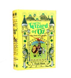 Wizard of Oz book clock by My Booklandia on Etsy  https://www.etsy.com/listing/565974383/wizard-of-oz-clock-book-lover-gift  #wizardofoz #clock #upcycled
