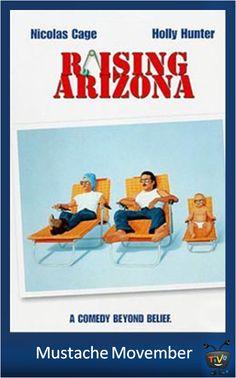 Mustache Movember - Nicolas Cage as H.I. McDunnough in Raising Arizona