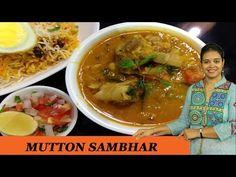 Mutton Curry, Mutton yelumbu sambar, Mutton Dalcha recipe, Non veg dal