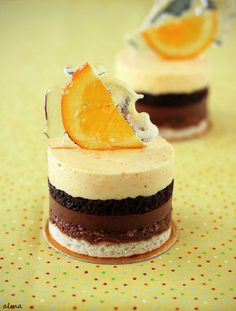 Valencia (Orange and Chocolate Entremets) Recipe by Sadaharu Aoki