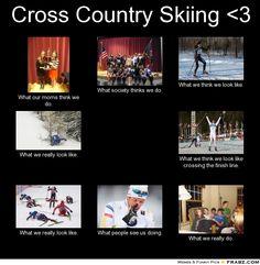 nordic ski meme - Google Search