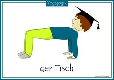 Kinderyoga Flashcards Tisch