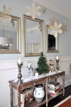 Honey We're Home: Snowflake Christmas Decor