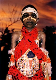 Aboriginal Boy of Australia