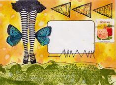 Mail Art - Viva Las VegaStamps!