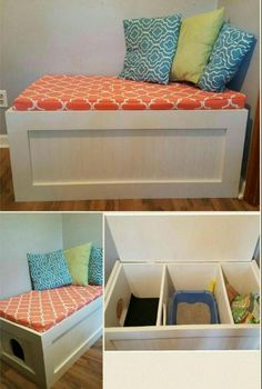 14 ways to hide the litter of the cat and to integrate it with the decoration of . - - 14 ways to hide the litter